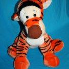 "Big Disney TIGGER 17"" Plush Large Sits Orange TIGER Stuffed Animal Disneyland"
