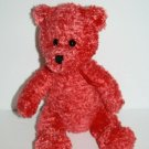 """Target Valentines TEDDY BEAR 9"""" Red Plush Soft Toy Red Ribbon Galerie Xmas 2009"""