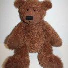 "Russ Berrie Teddy Bear PHILPOT 14"" Brown Shaggy Plush Stuffed Animal Soft Toy"