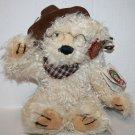 "Dan Dee TEDDY BEAR 12"" 100th Anniversary Roosevelt Cowboy Hat Plush Soft Toy"