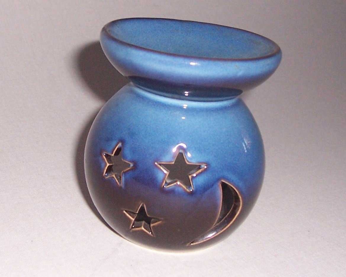Moon and Stars Scented Oil Burner