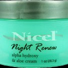 Nicel Night Renew Alpha Hydroxy Face Cream