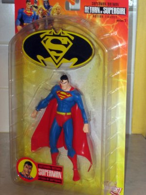 DC Direct Superman Figure - Return of Supergirl 2006 -  (MIB)