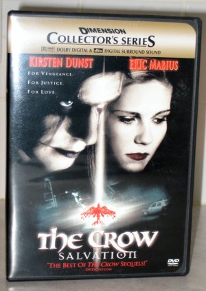 The Crow Salvation DVD (REGION 1)