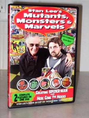 Stan Lee's Mutants, Monsters & Marvels DVD (REGION 1)