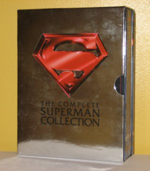 The Complete Superman Collection DVD Set