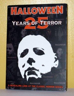 Halloween: 25 Years of Terror DVD