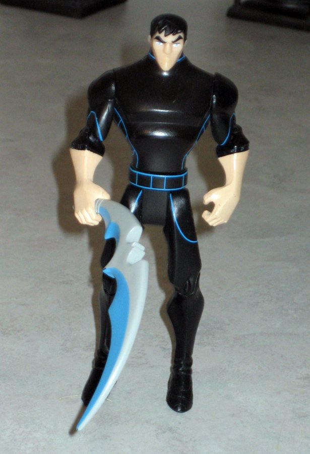 """The Batman"" Animated Series- Bruce Wayne Action Figure from Mattel (loose)"