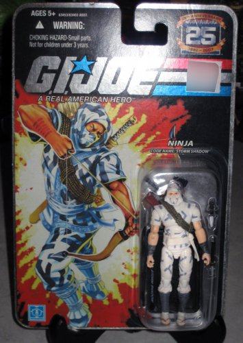 G.I. Joe 25th Anniversary - Storm Shadow (Silver/Foil Lettering)