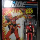 G.I. Joe 25th Anniversary - Wave 3 - Red Ninja (Silver/Foil Lettering)