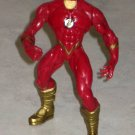 "TOTAL JUSTICE 5"" DC Comics JLA Flash(Gold)  Figure-Loose"