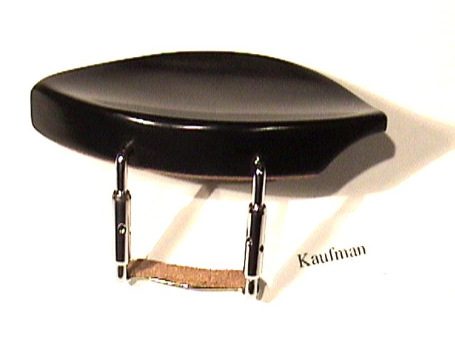 41114 Ebony Kaufman Style Violin Chinrest