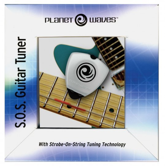 87900 Planet Waves S.O.S Guitar Tuner