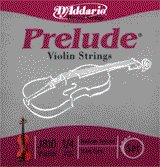 86031 D'Addario Violin Prelude 1/4 Medium, J810-M