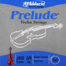 86033 D'Addario Violin Prelude 3/4 Medium, J810-M