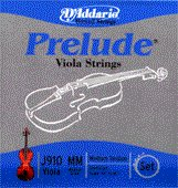 """86233 D'Addario Viola Prelude Set Med Scale Med (15-16""""), J910MM"""