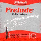 86333 D'Addario Cello Prelude 4/4 Medium, J1010-M
