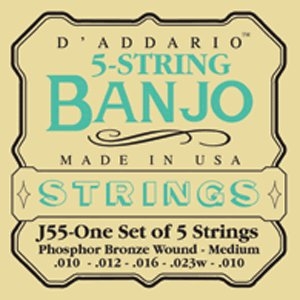 86500 D'Addario Banjo 5 String Strings
