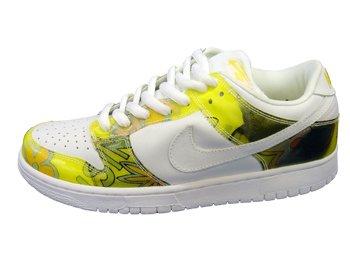 """Nike Dunk Low Pro SB White / Yellow """"De La Soul"""""""