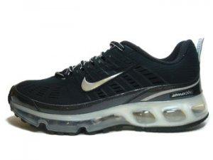 Nike Air Max 360 Black / Metallic Silver-black