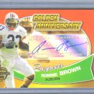 2005 Topps Ronnie Brown Golden Anniversary Prospects Auto RC Eagles