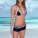 (XL)42.New Prestige, Curacao bikini, triangle top, short