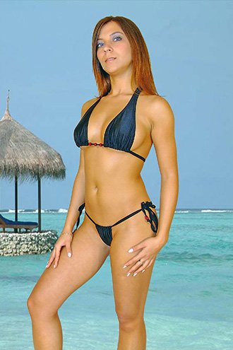 (2XL) 44. New Prestige, Tioman bikini, triangle top. Free shipping!
