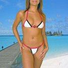 (L) 40 .New Prestige, Shedar g-string bikini, triangle top. Free shipping!