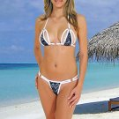 (XS) 34. New Prestige, Barberry bikini, triangle top, thong. Free shipping