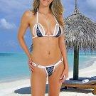 (L) 40. New Prestige, Barberry bikini, triangle top, thong. Free shipping