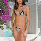 (XL) 42. New Prestige, Hazel I. bikini, triangle top, thong. Free shipping