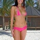 (2XL) 44 .New Prestige, Sunflower bikini, triangle top, micro short. Free shipping!