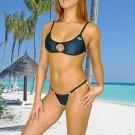 (L) 40. New Prestige, Shaula bikini,  cut-out top, thong. Free shipping