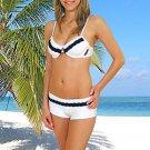 (XS) 34 .New Prestige, Tobago bikini, underwire bra, short. Free shipping!