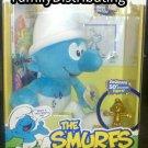 50th anniversary Smurfs plush w/DVD