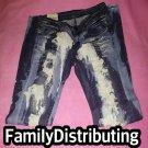 Tie Dye Denim Jeans