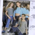 Girls Tops sewing pattern - size 8 9 10 11 12 13 14 Burda 9774