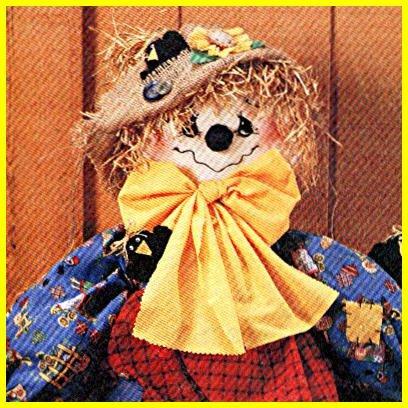 SCARECROW - Scarecrow Wreath - Hanging Scarecrow - - McCalls 8388