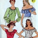 Misses Tops bust 31 1/2 and 32 1/2 Butterick 5975