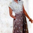 1980s Skirt, Top Womens Sewing Pattern Butterick 5383