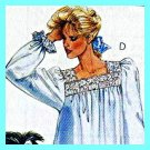 Nightgown, Top, Shorts womens 14 16 18 sewing pattern McCalls P923