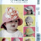 Hats - baby and toddler sewing pattern McCalls 5865