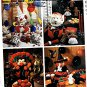 Holiday Table Accessory, Clown, Elf, Turkey, Witch, Pumpkin, Ghost, Gingerbread McCalls 3367