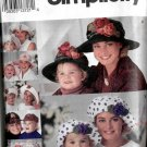 Hats - Mother and Daughter Simplicity 8268