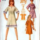 1960s Retro JIFFY KIMONO Sleeves Dress size 10 bust 31 vintage sewing pattern Simplicity 6628