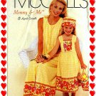 McCalls 2102 Women n Girl DRESS Hat Bag ( pocketbook tote )