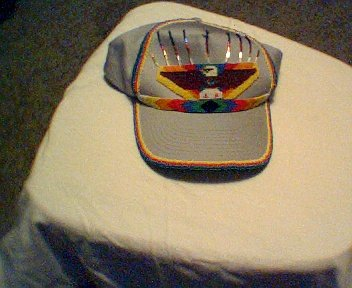 Handcrafted Beaded Ball Cap