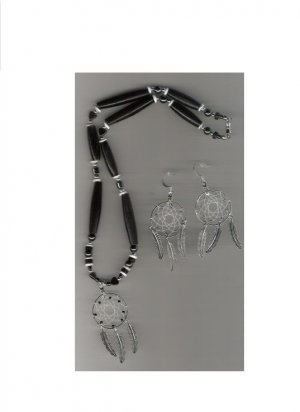 Handcrafted Buffalo bone necklace