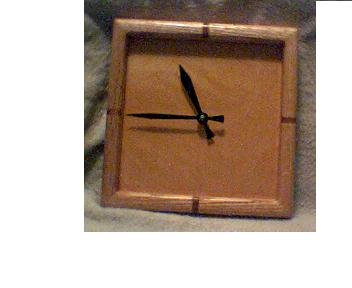 Handcrafted wooden clocks