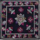 Uzbek Velour Machine Embroidery Suzani  From Thashkent / Uzbekistan 131